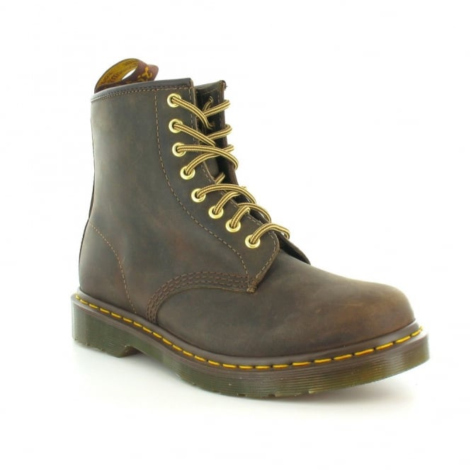Dr Martens 1460 Unisex Leather 8-Eyelet Ankle Boots - Aztec Brown