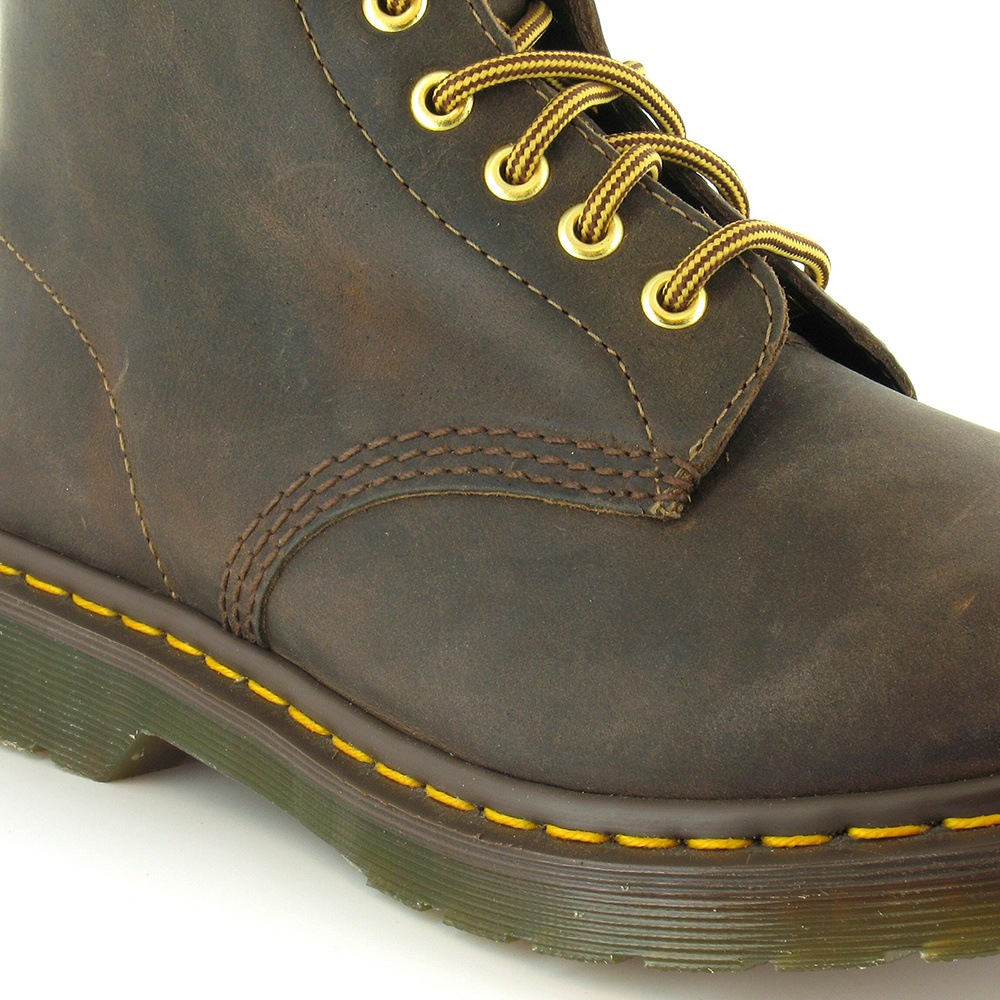 db410e76e5232 Dr Martens 1460 Unisex Leather 8-Eyelet Ankle Boots in Aztec Brown ...