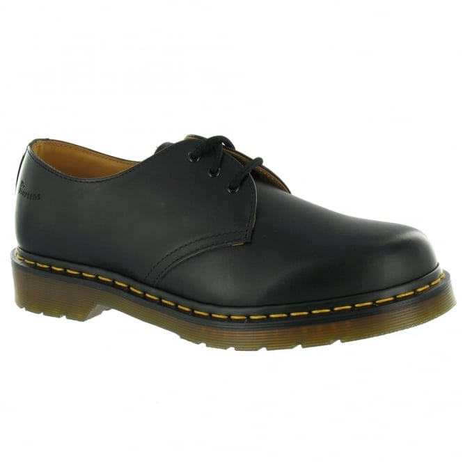 Dr Martens 1461 Unisex Leather Shoes - Black