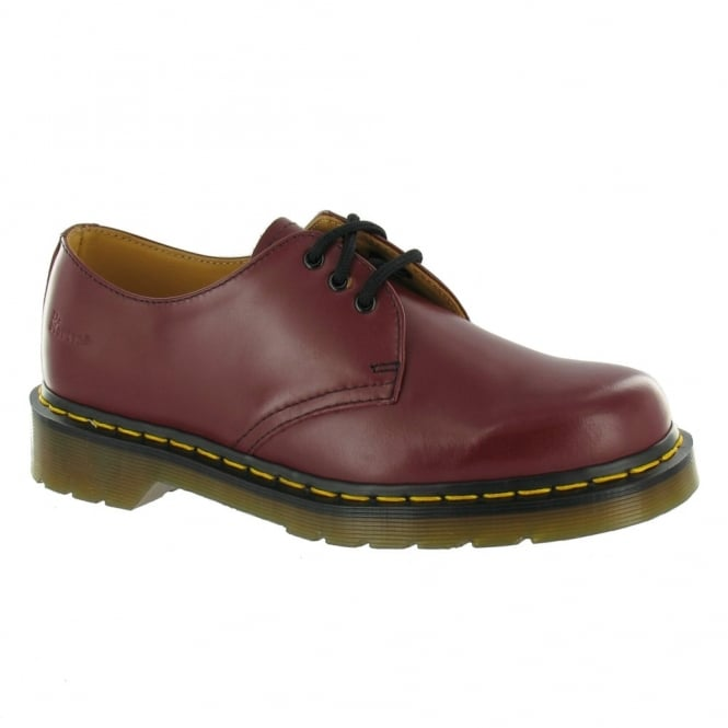 Dr Martens 1461 Unisex Leather Shoes - Cherry Red