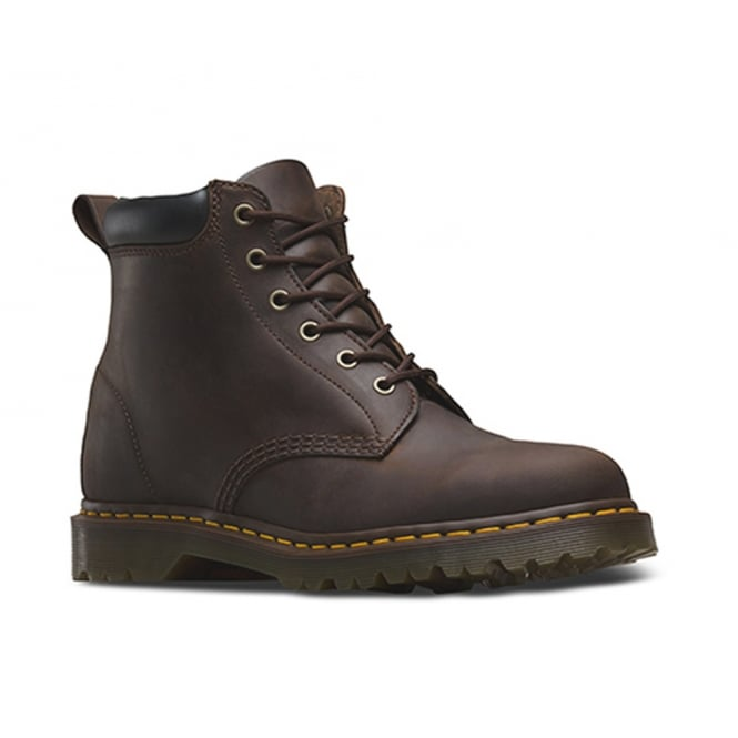 Dr Martens 939 Ben Mens Leather Ankle Boots - Gaucho Brown