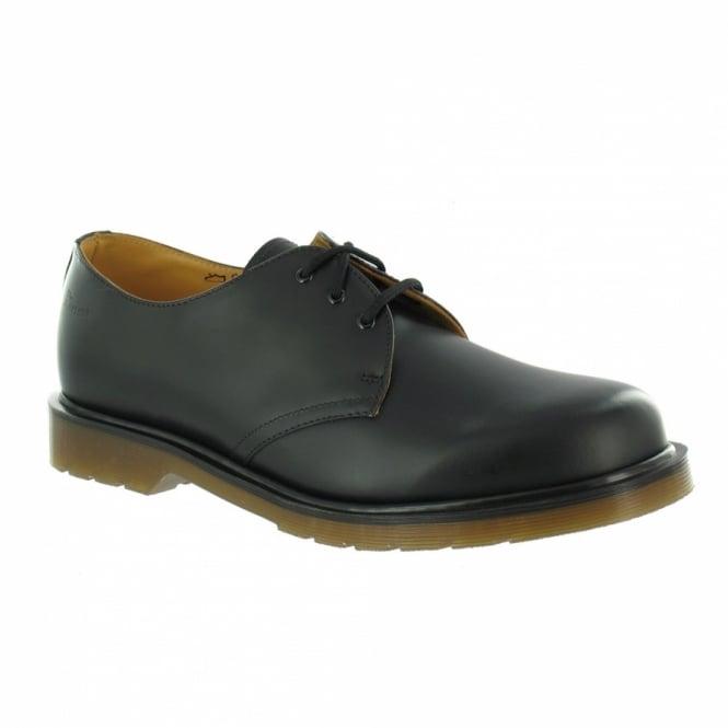 Dr Martens Original 1461 PW Unisex Leather Shoes - Black