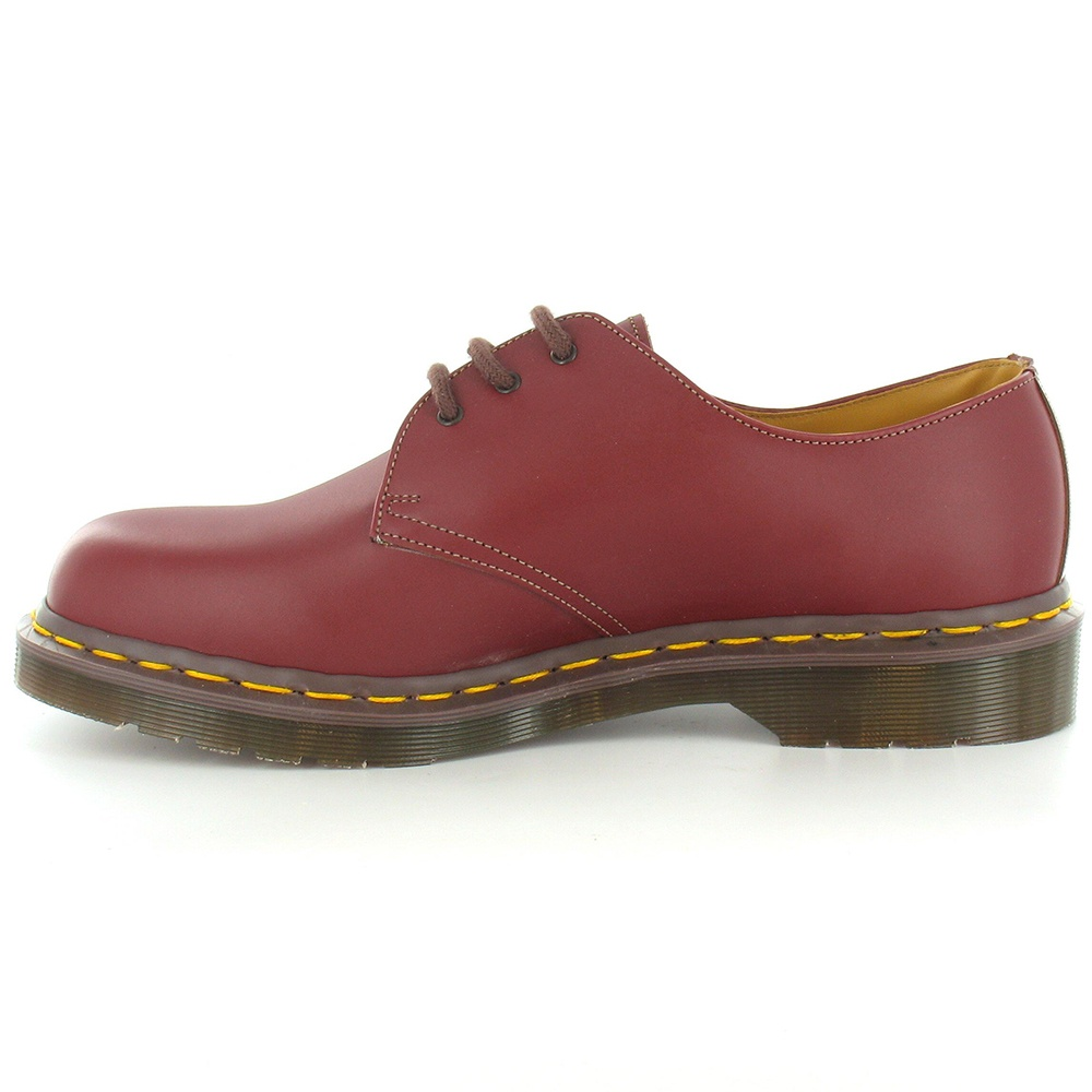 dr martens vintage 1461 made in england mens leather lace up shoes oxblood. Black Bedroom Furniture Sets. Home Design Ideas