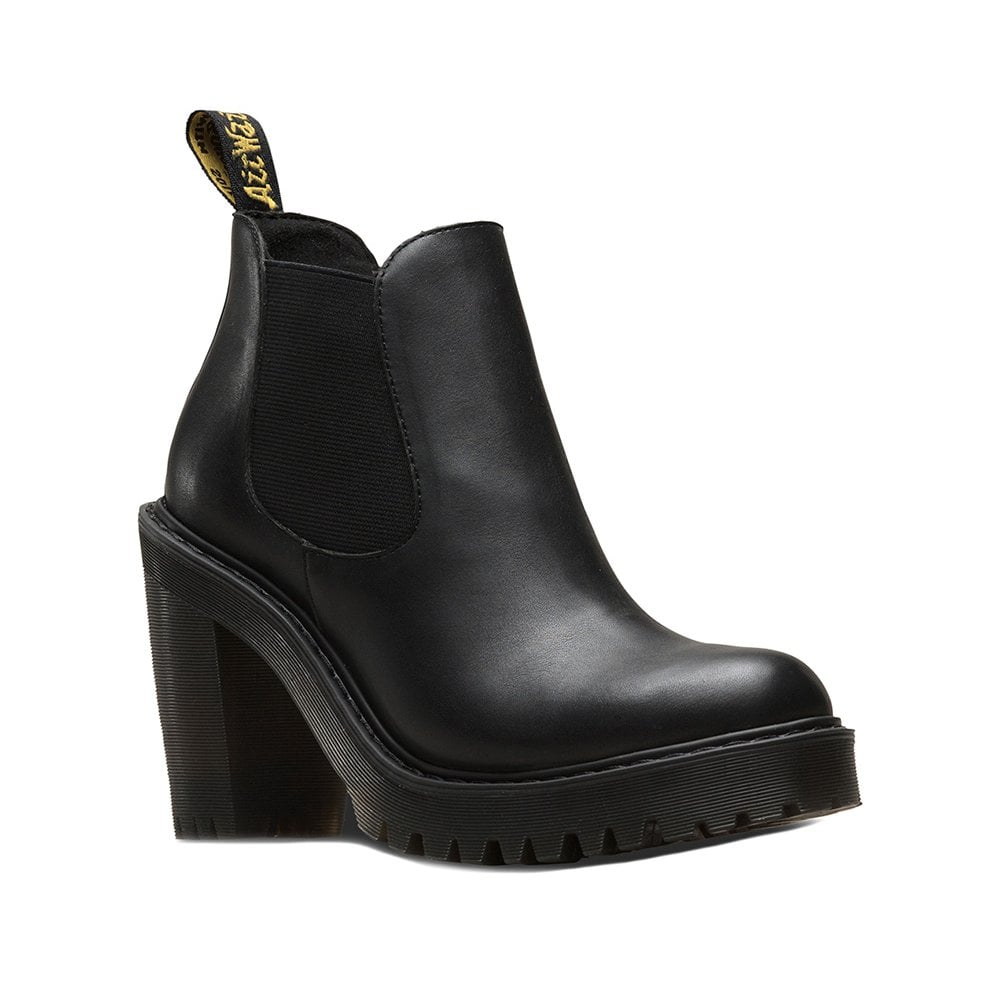 Dr Martens Hurston Womens Leather Chelsea Boots - Black 271ff82c58c4