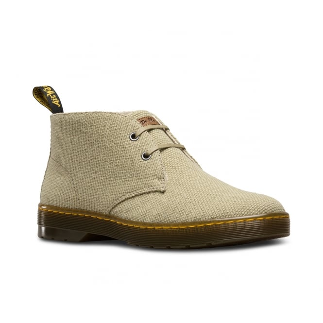 Dr Martens Mayport Mens Military Heavy Canvas Boots - Olive Green
