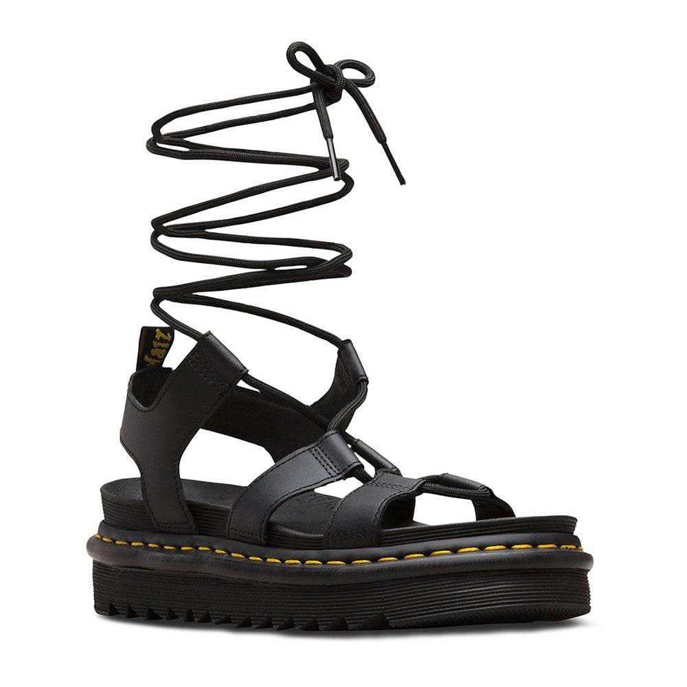 Womens Sandals Black Womens Leather Leather Nartilla Nartilla drxCBtshQ