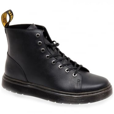 Dr Martens Talib Mens Leather Lace Up Boots - Black