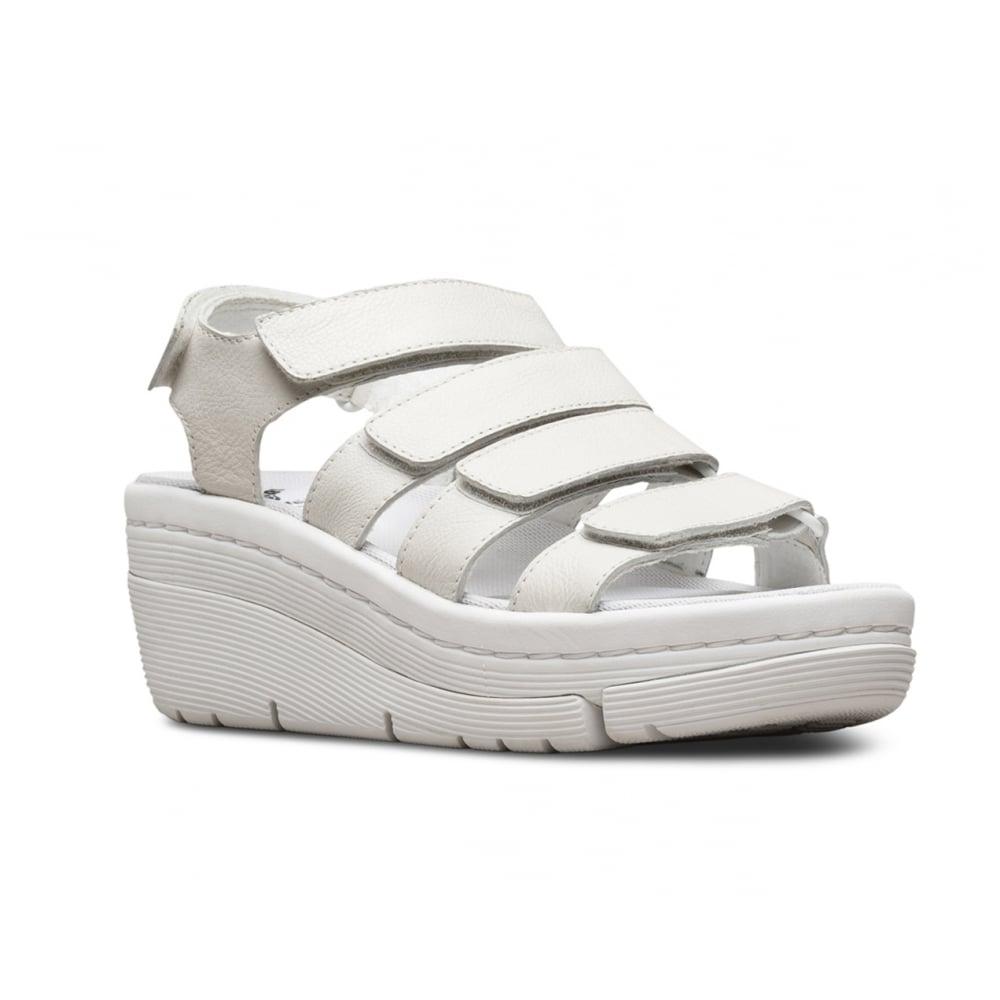 Virginia Martens Sandals Womans White Dr Verity wXuOPTZik