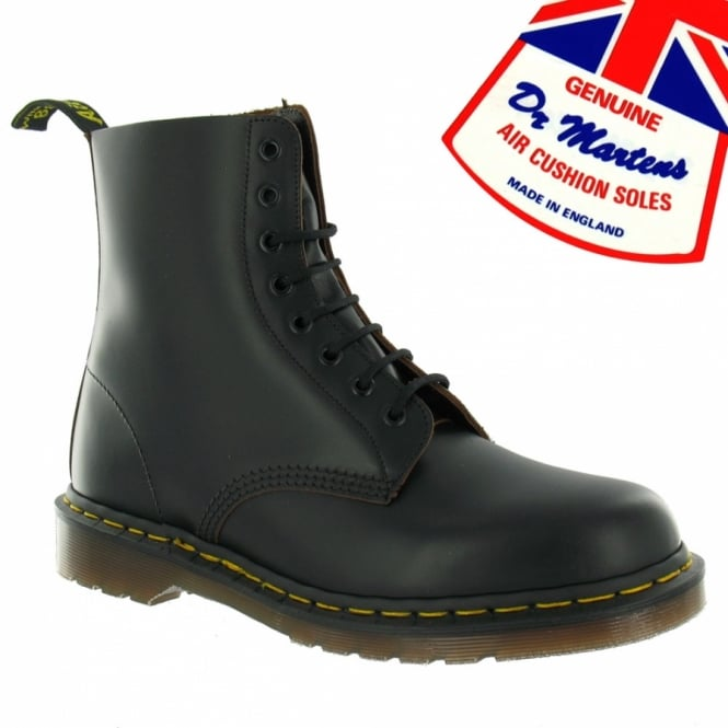 Dr Martens Vintage 1460 Made In England Mens Premium Leather Ankle Boots -  Black facfe070b