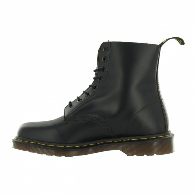 1f79686d424 Vintage 1460 Made In England Mens Premium Leather Ankle Boots - Black