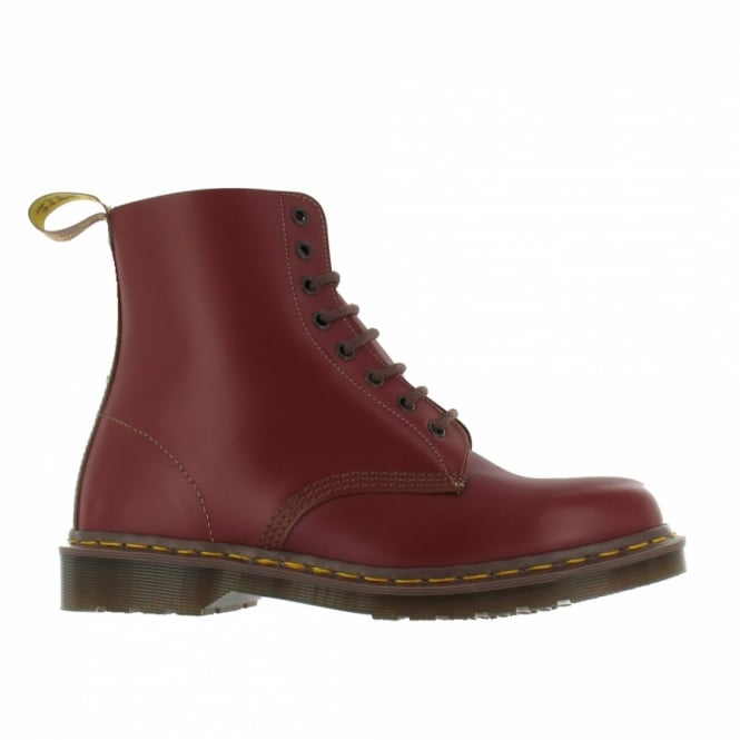 c64e3e06436 Vintage 1460 Mens Made In England Premium Leather Ankle Boots - Oxblood