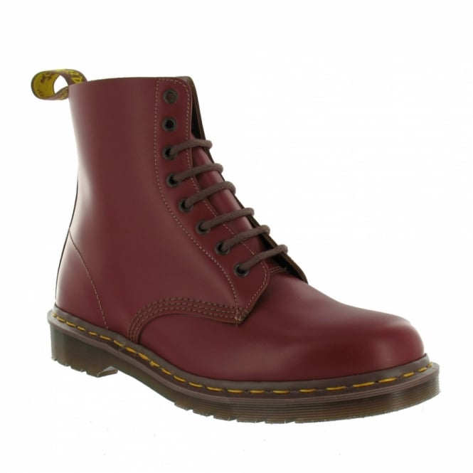 Dr Martens Vintage 1460 Mens Premium Leather Ankle Boots - Oxblood - Made In England