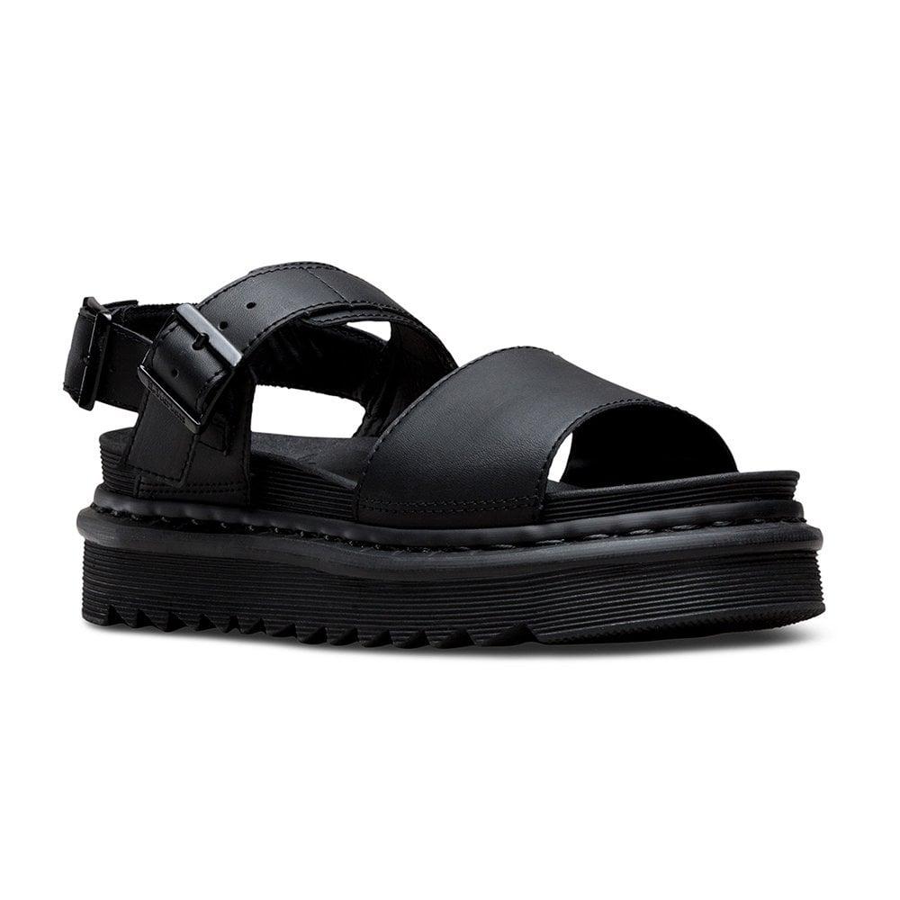 dr martens voss black sandals