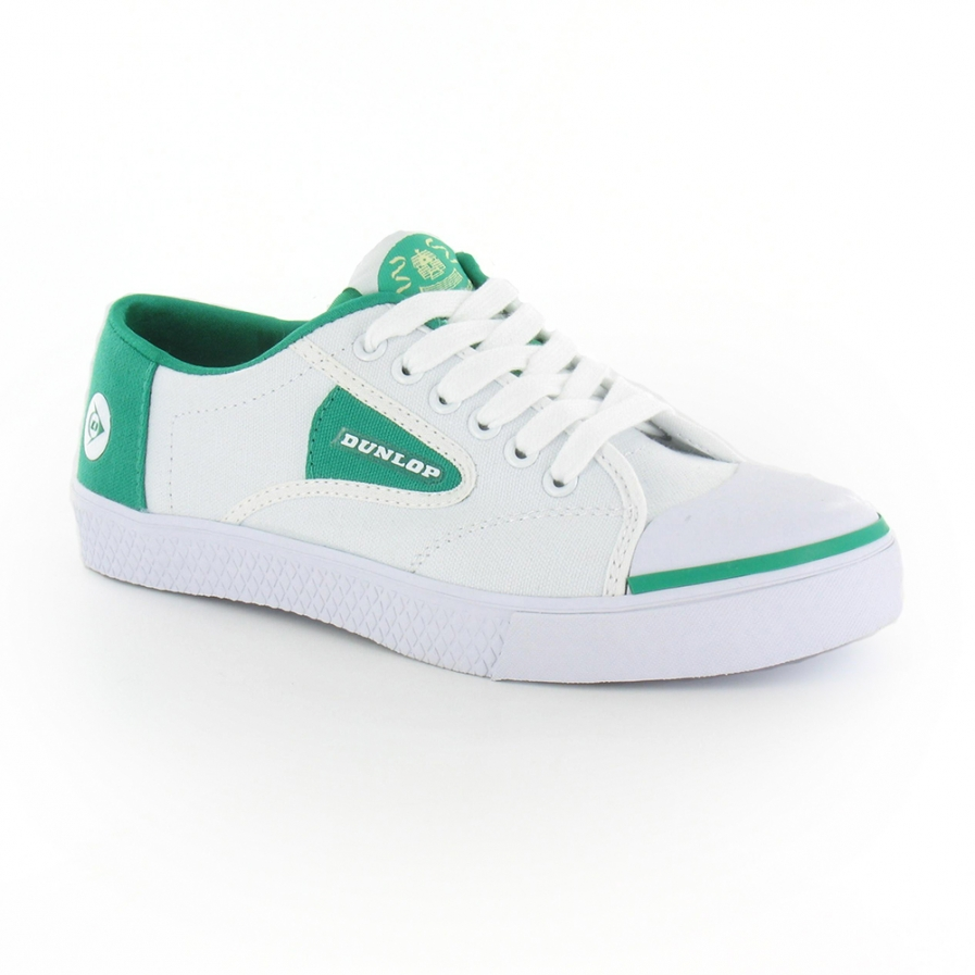 Dunlop Green Flash Mens Tennis Shoes in
