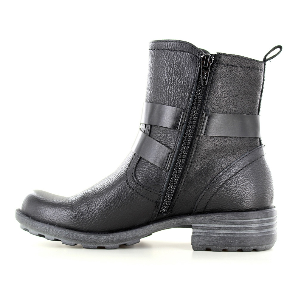 Earth Spirit Nevada Womens Ankle Strap Boots Black