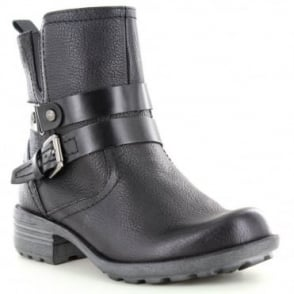 Earth Spirit Nevada Womens Ankle Strap Boots - Black