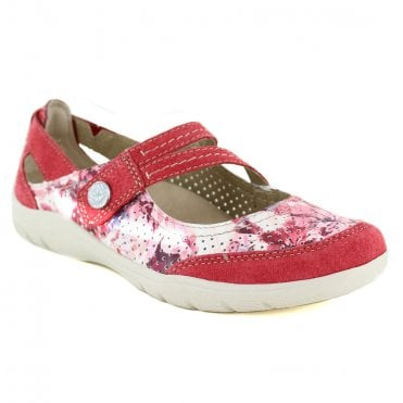 EARTH SPIRIT Maryland Womens Walking Sandals - Jazzy Red
