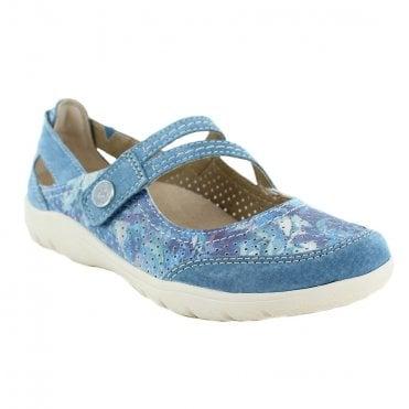 6fb08b6ef78231 Earth Spirit Maryland Womens Walking Sandals - Moroccon Blue