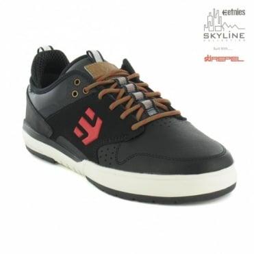 Etnies Aventa ODB LX Mens Leather Skate Shoes - Black