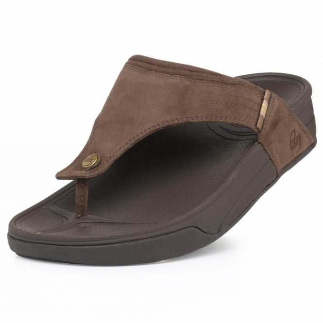 6735ba347 Fitflop Mens Dass Chocolate