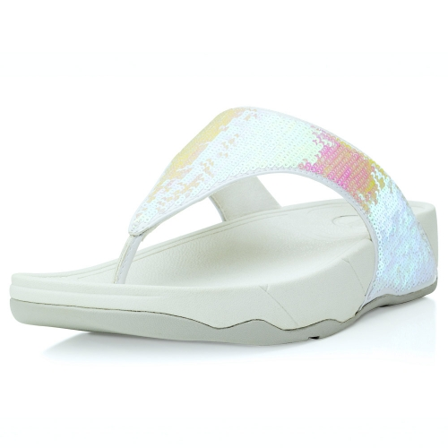 3c30bfe577d Fitflops Electra Iridescent White
