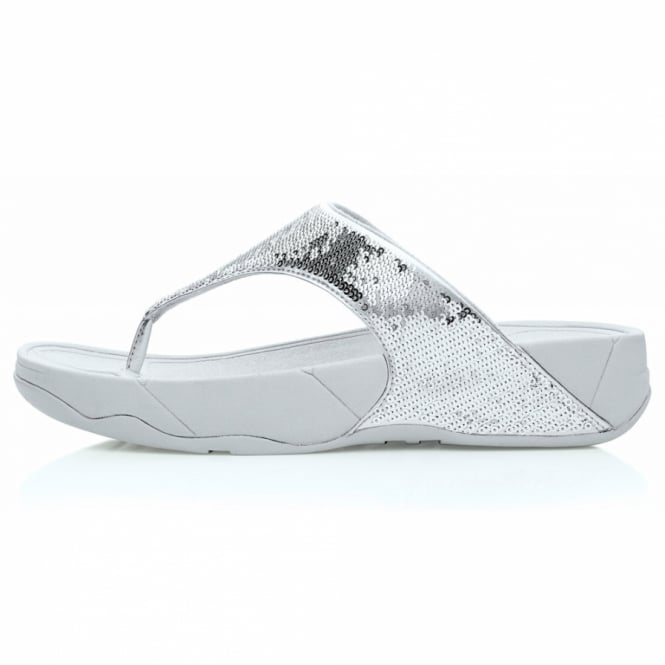 FitFlop Electra Womens Sequin Toe-post
