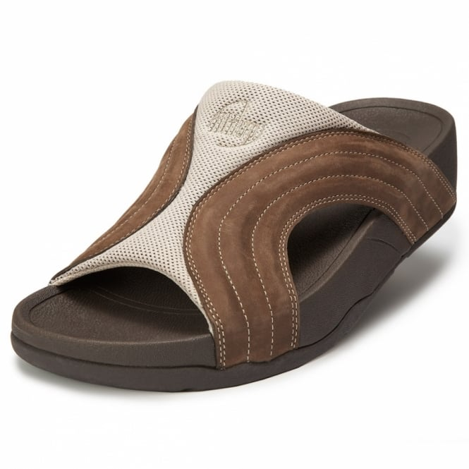 24c3ee37edca FitFlop Freeway Mens Sandals - Grizzly Brown - Mens from Scorpio ...