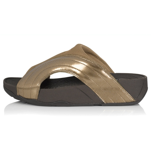 fitflop fitflop freeway womens sandals bronze fitflop