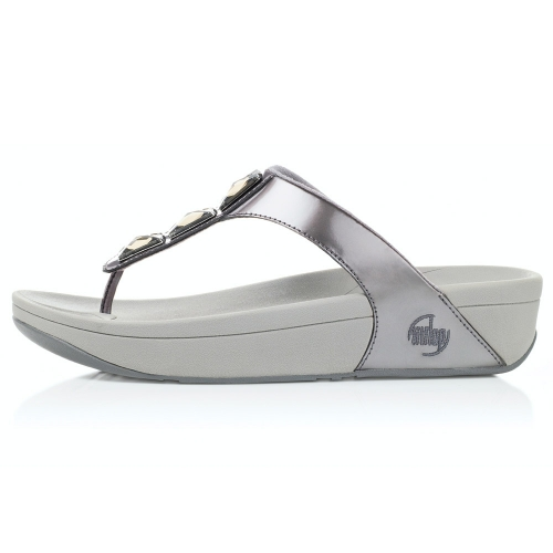 fitflop sandals pietra pewter