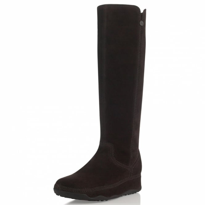 fitflop superboot womens suede leather mid calf boots