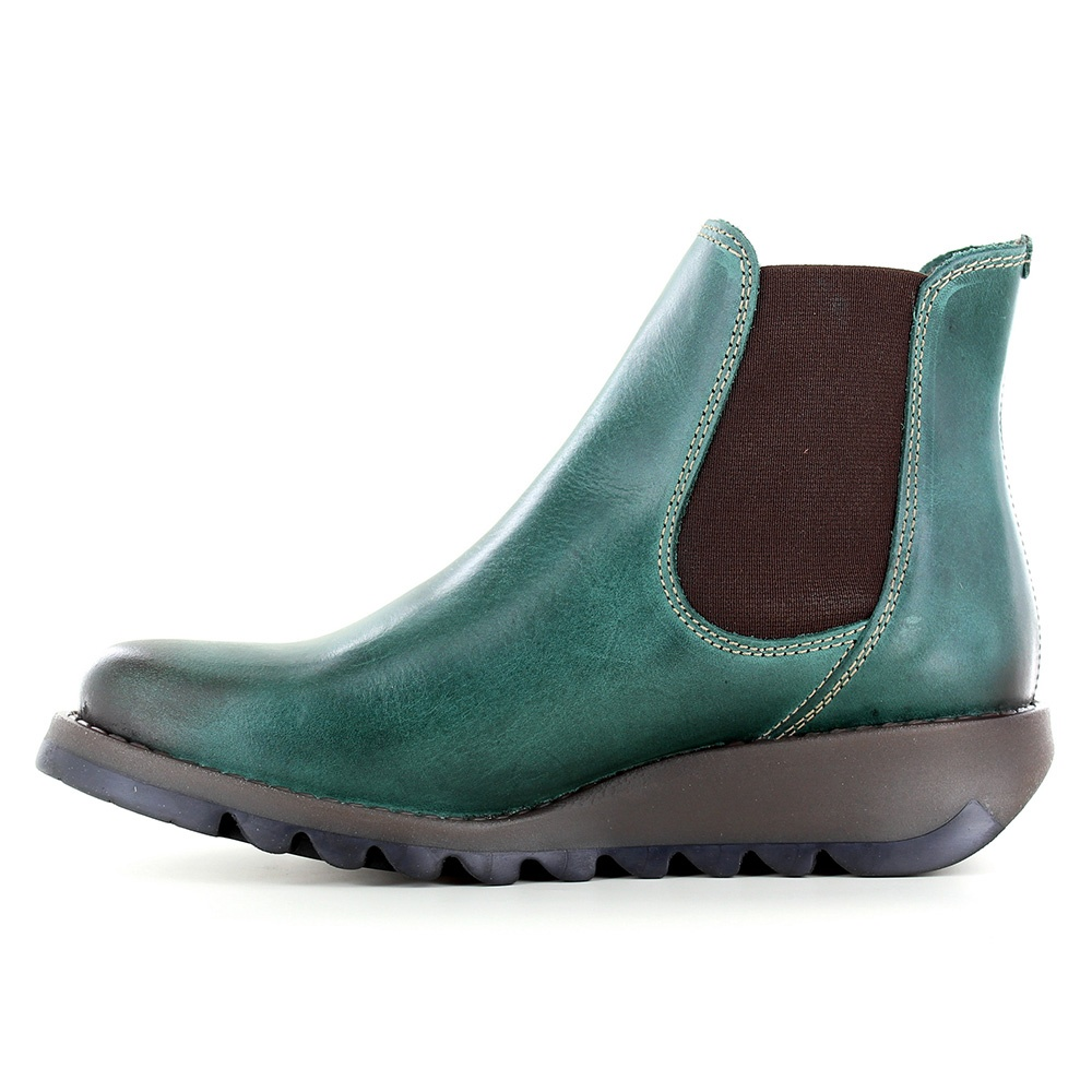Fly London Salv Womens Leather Chelsea