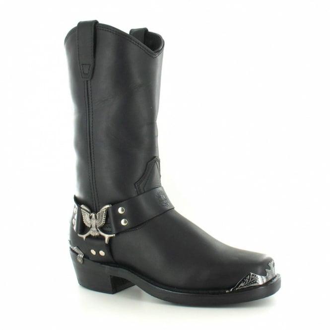 Grinders Eagle Hi Boots - Black