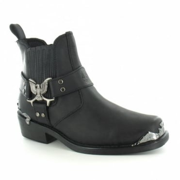 Grinders Eagle Lo Boots - Black