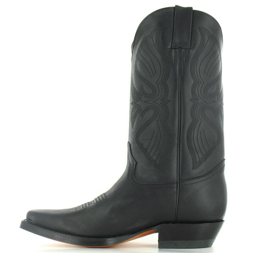 grinders louisiana mens classic leather mid calf cowboy