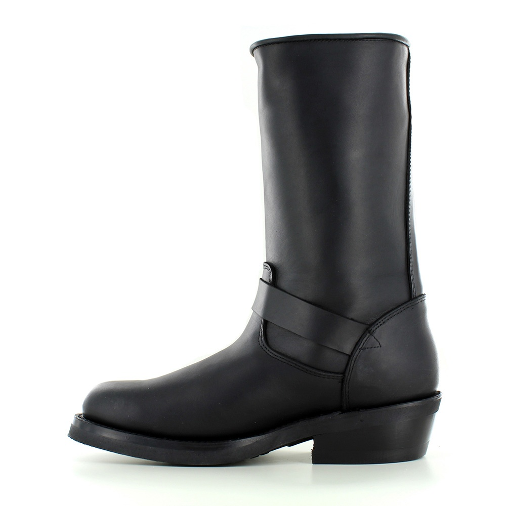 Wonderful Womens Black Knee High Leather Biker Riding Boots  Shoes  Pinterest