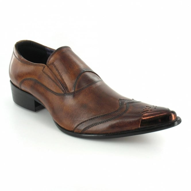 gucinari gucinari jp002 mens premium leather slip on toe