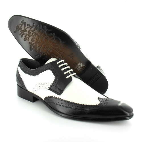 gucinari gucinari mens premium brogue leather lace up