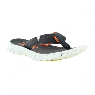 Hey Dude Mens Canvas Toe Post Sandals - Funk Ossidiana