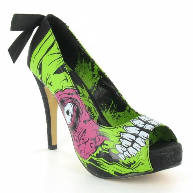 Iron Fist If8660 Zombie Stomper Womens High Heel Peep Toe