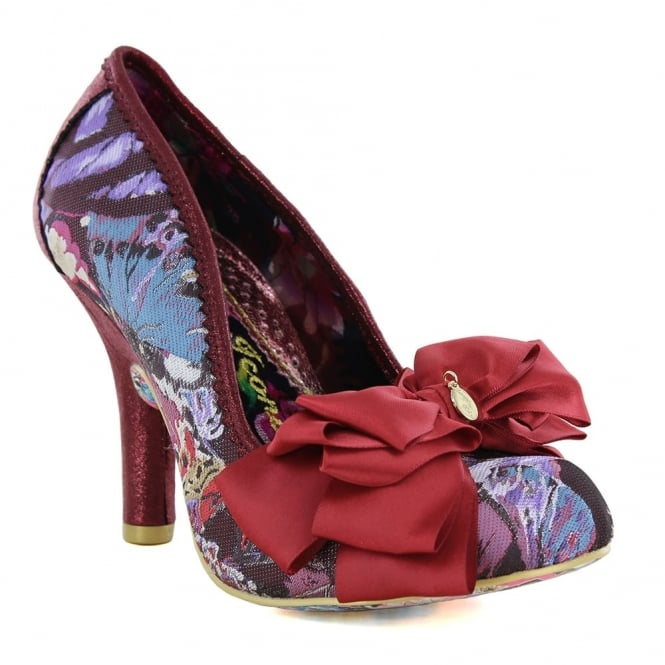 Irregular Choice Ascot 3081-40V Womens Court Shoes - Red Multi