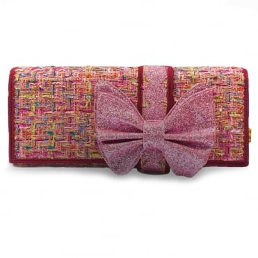 Irregular Choice Cookies And Cream BICCO01B Clutch Bag - Pink Multi