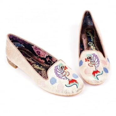 Irregular Choice Kissy Fishy 4329-25B Womens Low Pumps - Pink