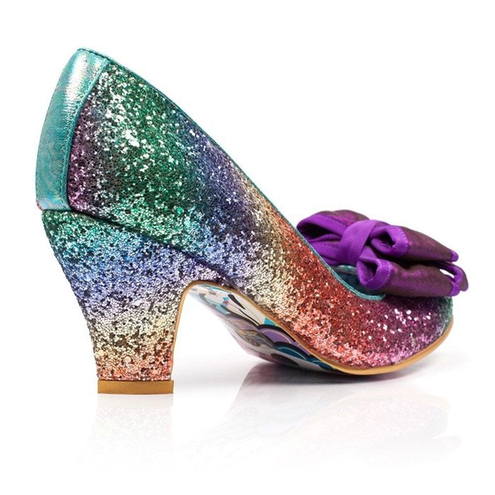 e73ee50ff6c Lady Ban Joe 4255-42A Womens Court Shoes - Rainbow Multi
