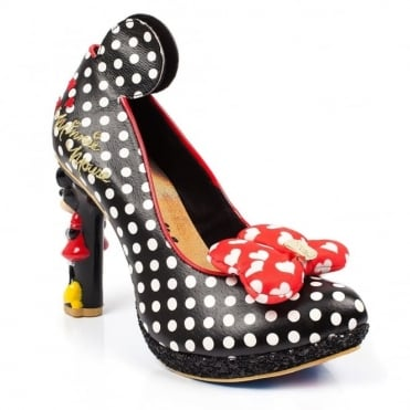 Irregular Choice Mickey Mouse & Friends Oh My! 4380-01A Character Heels - Black