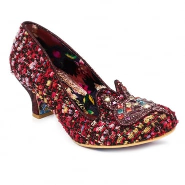 Irregular Choice Miss Foxy 4136-36F Womens Court Shoes - Red