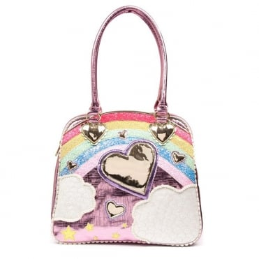 Irregular Choice Over The Rainbow B111-01A Tote Bag - Pink