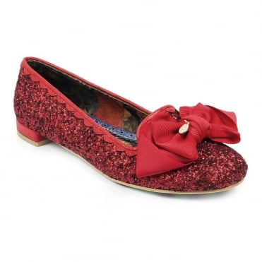 Irregular Choice Sulu 4329-33A Womens Low Heel Pumps - Red