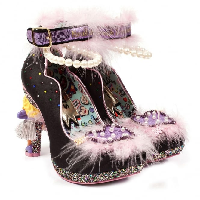 Irregular Choice The Muppets All About Moi 4417-02A Character Heels - Black