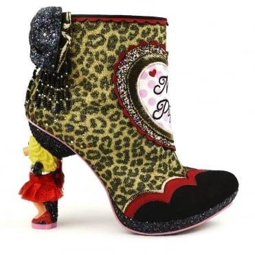 Irregular Choice The Muppets Fierce Piggy 4418-01A Character Heels -  Leopard Print b376c674a