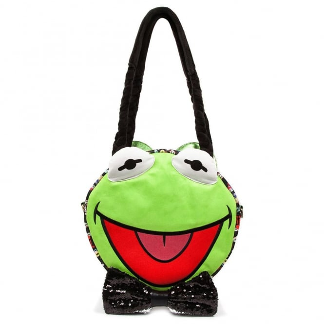 Irregular Choice The Muppets Hip Hop Happy BICHIP01A Character Bag - Green